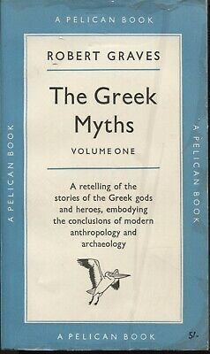 The Greek Myths Volume One By Robert Graves Paperback • 3£