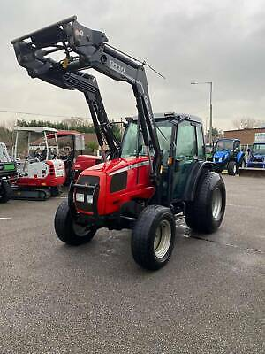 Massey Ferguson 2210 4-Wheel Drive Compact Tractor C/w Front Loader • 15,500£