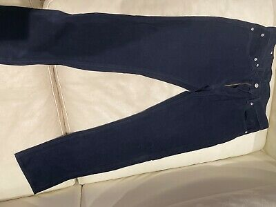 Levis Dark Blue Cord Trousers  • 10£