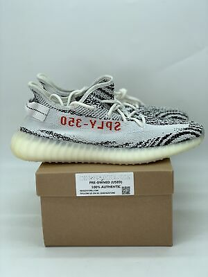 $ CDN322.93 • Buy Adidas Yeezy Boost 350 V2 'Zebra' 2017 Release (Pre-Owned) USED-NOBOX-CP9654
