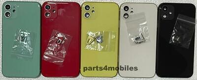 For IPhone 11 Metal Frame Back Chassis Housing Rear Glass Cover Replacement UK • 35£