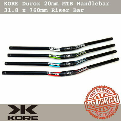 $24.90 • Buy KORE Durox MTB Handlebar 31.8x760mm Wide AL6061-T6 Double Butted Riser Bar 20mm