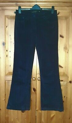 Lovely Pair  Women's Navy Blue Cord/Corduroy Bootcut Trousers Next Size 12R Nwot • 2.50£