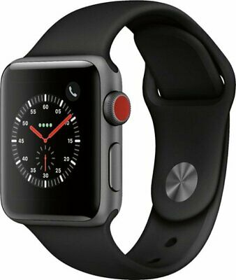 $ CDN318.75 • Buy Apple Watch Series 3 (GPS), 38mm Space Gray Aluminum Case With Black Sport Band