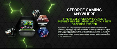 $ CDN12.98 • Buy NVIDIA GEFORCE NOW CODE. 1 Year Founders Membership. (Read Description)