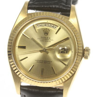 $ CDN8927.15 • Buy ROLEX Oyster Perpetual 1803 Day Date Cal.1556 Automatic Men's Watch_564916