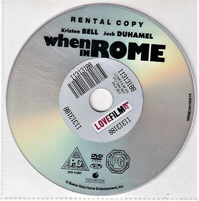 When In Rome DVD • 1.60£