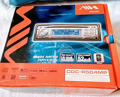 Aiwa Car Compact Disc Player - CDC- R504MP • 5£