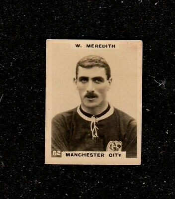 1922 Godfrey Phillips Pinnace Football W Meredith Manchester City Cigarette Card • 8.50£