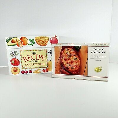 Recipe Card Collection Box 140 Step-by-step Instructions With Photos All Courses • 14.95£
