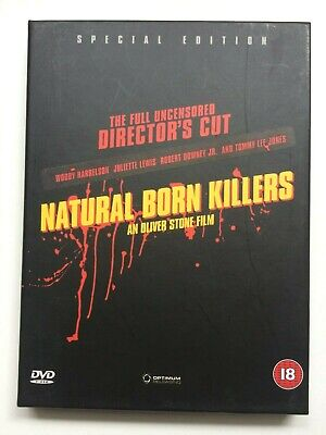 'Natural Born Killers' DVD Special Edition (1994 / Hard Box / Tarantino). • 0.99£