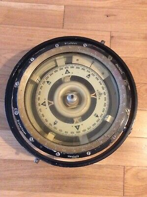 Ships Compass By W. Ludolph Of Bremerhaven And Hamburg • 65£