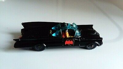 Corgi Husky 1402 Batmobile With Batman And Robin, 1966, Rare. • 24.50£