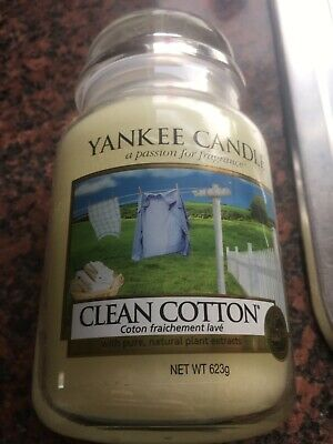 Yankee  Candle Clean Cotton • 10£
