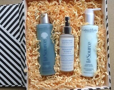 CRABTREE & EVELYN La Source Stairway To Sleep - Body Wash/Body Lotion/Mist - NEW • 39.99£
