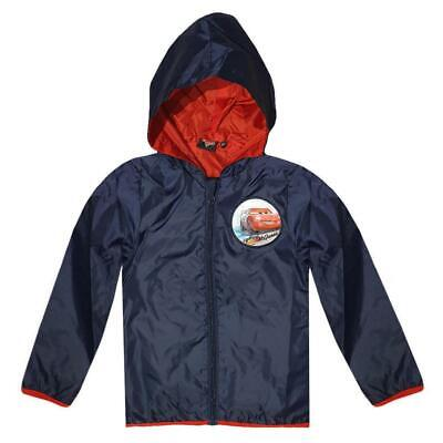 Disney Cars Kids (2-8) Hoodie Impermeable Lightweight Rainjacket Sweatjacket • 16.49£