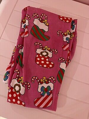 Irregular Choice Tights Christmas Patterned Pink Tights One Size Brand New • 12£