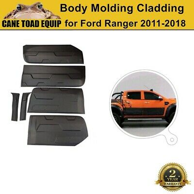 AU131.95 • Buy NEW Side Door Body Molding Cladding Trim Fit Ford Ranger PX1 PX2 PX3 2012-2020