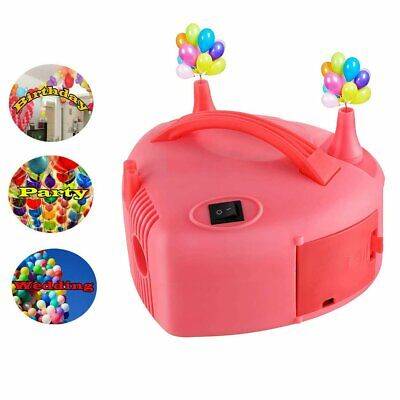 £19.99 • Buy 600W Portable Electric Balloon Pump Inflator Air High Power Blower 2Nozzle Party