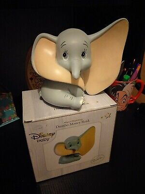 Disney Magical Beginnings Money Bank/box. Dumbo Figure. New & Boxed.  • 12.20£