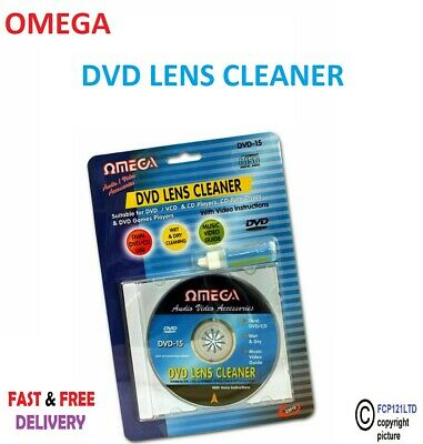 £4.25 • Buy Laser Lens Cleaner Disc Cleaning Kit For Dvd Cd Vcd Xbox Ps3 & Blu Ray Players