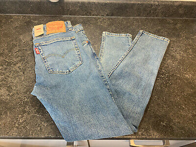 Mens Levis 519 Extreme Skinny Hi Ball Jeans Waist 33 Inch - STRETCH • 49.99£