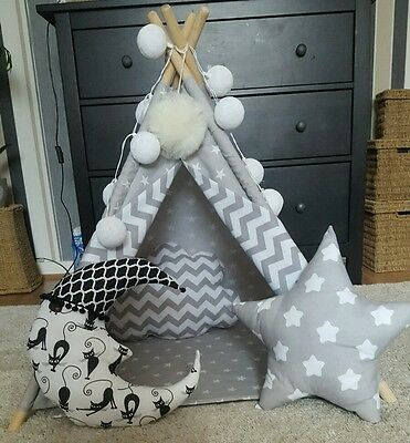 🐶Dogs, 🐈cats Teepee, 🐾pets Play House 🐾handmade Tipi With Poles🥰 • 24£