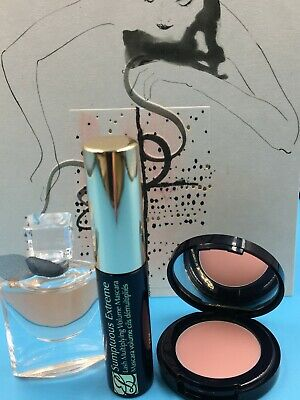 Estee Lauder & Lancome Gift Set, Mascara, Fragrance & Lip Balm BRAND NEW FRESH • 20£