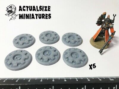 £3.50 • Buy Sci-fi Wargame Markers Counters Scenery 28-35mm Fallout Warhammer Apocalypse