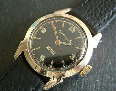 Vintage 50's 10ct Gold Filled (EBEL) PAUL BREGUETTE Automatic Watch; Serviced   • 150£