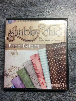 Shabby Chic By Debbi Moore Designs Paper Delights CD-Rom • 2.60£