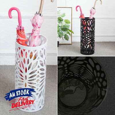 AU29.99 • Buy Steel Umbrella Umbrella Stand Storage Umbrella Container Holder ACB#