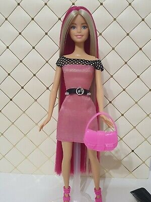 Barbie Fashionista Doll Rerooted Ooak! • 25£