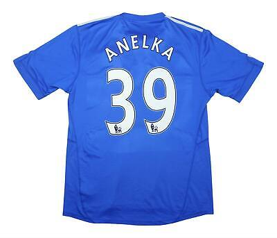 Chelsea 2009-10 Authentic Home Shirt Anelka #39 (Excellent) L Soccer Jersey • 64.99£