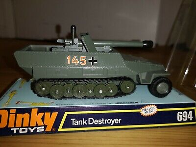 Dinky 694 Tank Destroyer Boxed Mint Condition • 21£