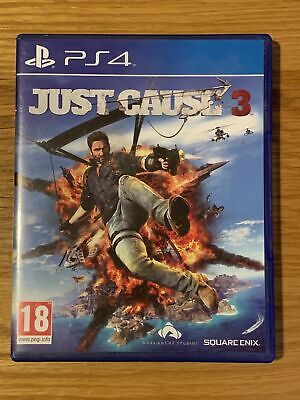JUST CAUSE 3 - Sony PlayStation 4 PS4 Game - *Excellent Condition* • 7.90£