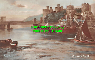 £7.99 • Buy R499665 Elmer Keene. Conway Castle. Hand Coloured Real Photograph