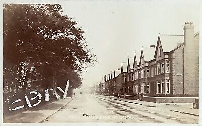 Greenbank Road, Sefton Park, Liverpool. Real Photographic Postcard. • 25£