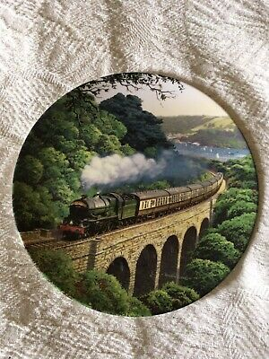 Royal Doulton Decorative Plates Over The Viaduct • 18£