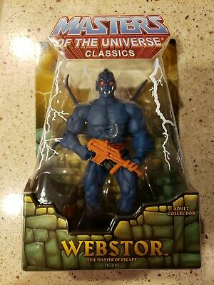 $89 • Buy Masters Of The Universe Classics: 2009 Webstor By Mattel