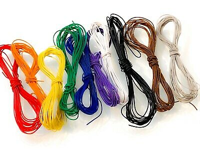 3m Of All 10 Colours, DCC Decoder Wire, 30awg, Model Railway, Bachmann, Hornby • 5.99£