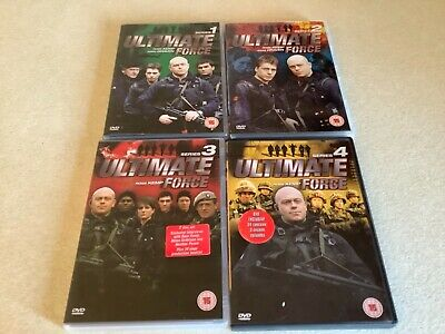 Ultimate Force Series 1-4 • 3.50£