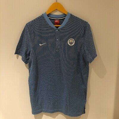 Genuine Manchester City Football Nike Mens Casual Wear Tshirt Large L • 0.99£