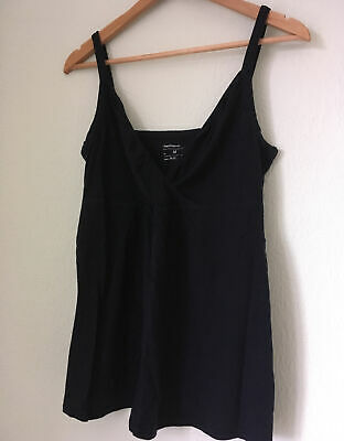 GAP Maternity Nursing Navy V Neck Vest Top Size M • 0.99£
