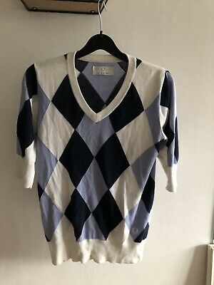 Fred Perry Argyle Jumper Size 10 • 30£