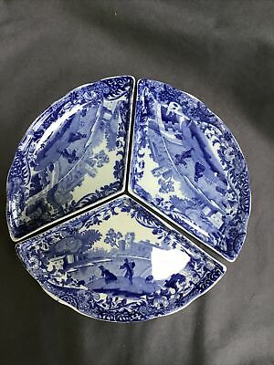 Vintage Rare Copeland Spode ITALIAN Hors D' Oeuvre Dishes / Pickle Dish Set  X 3 • 34.99£