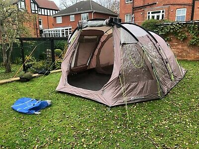 Outwell Nevada M Tent (Mocha) - Large Porch/Living Area - Camp Camping Gear  • 75£