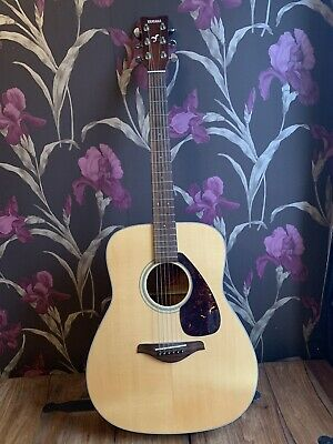 Yamaha FG700MS Acoustic Guitar Complete With Lined Hard Carry Case • 79£