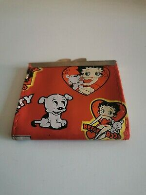 £5 • Buy Betty Boop Coin Purse. Used. PVC Fabric Material.