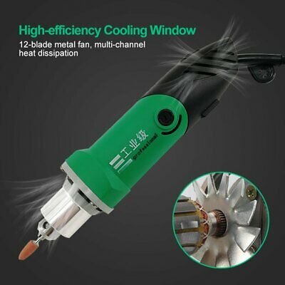 Mini Electric Grinder Engraving Grinding Milling Tool 6-Level Variable Speed UK • 18.88£